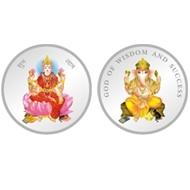 Luxmi Ji Ganesh Ji Coin 20g