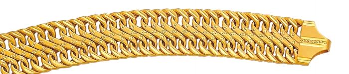 Fancy Hollow Bracelet